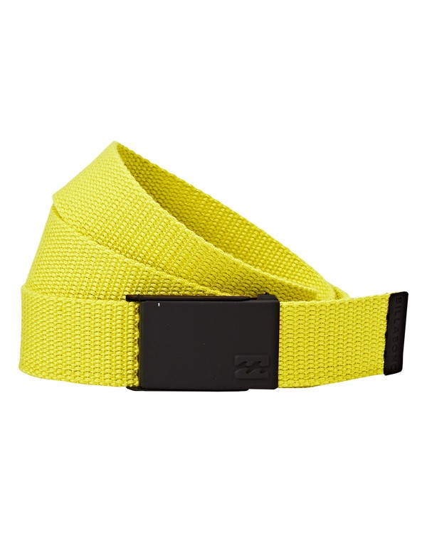 0 Cog Belt Yellow MABLVBCO Billabong