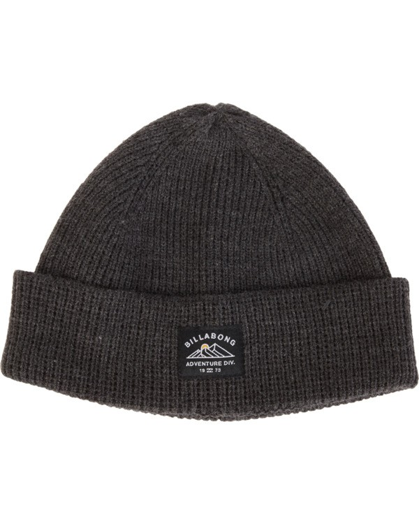 0 Adiv Beanie Black MABN1BAD Billabong