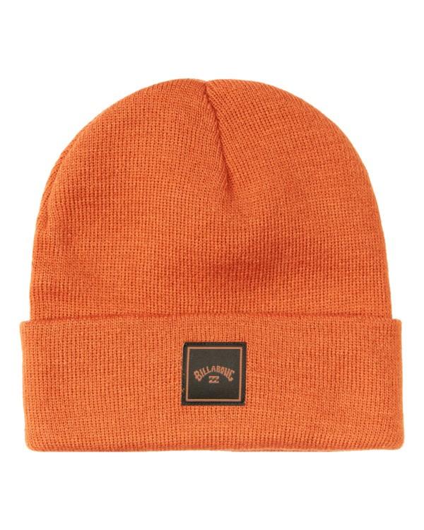 0 Stacked Beanie Orange MABN3BST Billabong