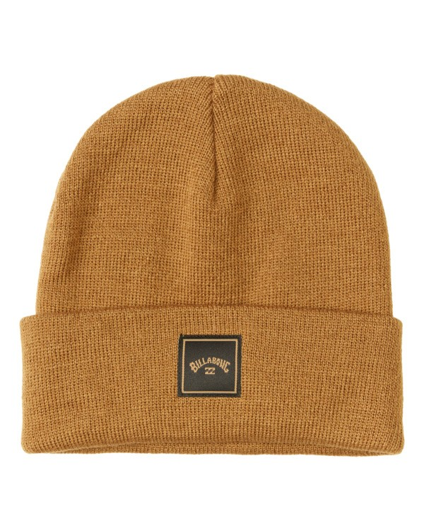 0 Stacked Beanie Brown MABN3BST Billabong