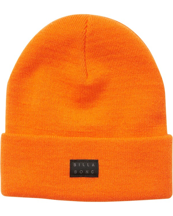 0 Disaster Fold Up Beanie Orange MABNQBDI Billabong