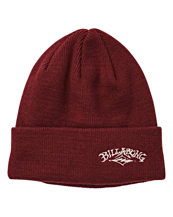 0 Edge Beanie Red MABNVBED Billabong