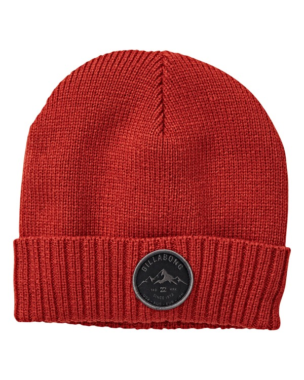 0 Ridge Polar Beanie Red MABNVBRP Billabong