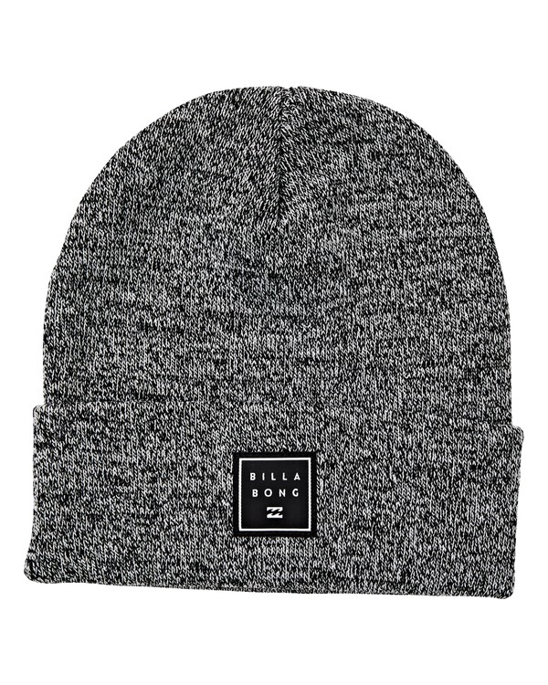 0 Stacked Heather Beanie Black MABNVBSH Billabong