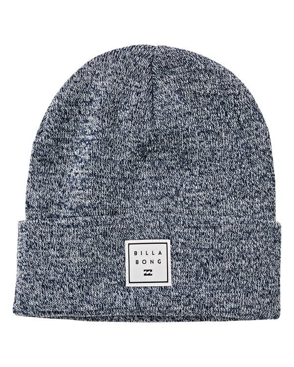 0 Stacked Heather Beanie Brown MABNVBSH Billabong