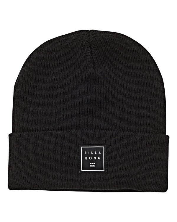 0 Stacked Beanie Black MABNVBST Billabong