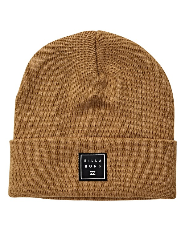 0 Stacked Beanie Brown MABNVBST Billabong