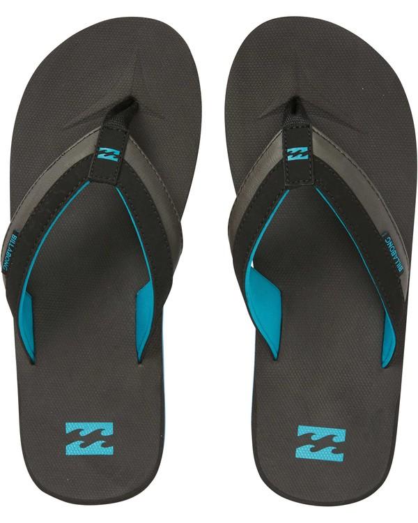 0 All Day Impact Sandals Black MAFTAADI Billabong