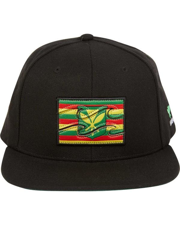 0 Hawaii Native Snapback Hat Orange MAHTJNAT Billabong