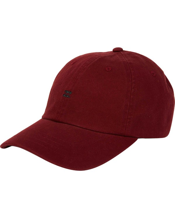 0 All Day Lad Cap Red MAHTMADL Billabong