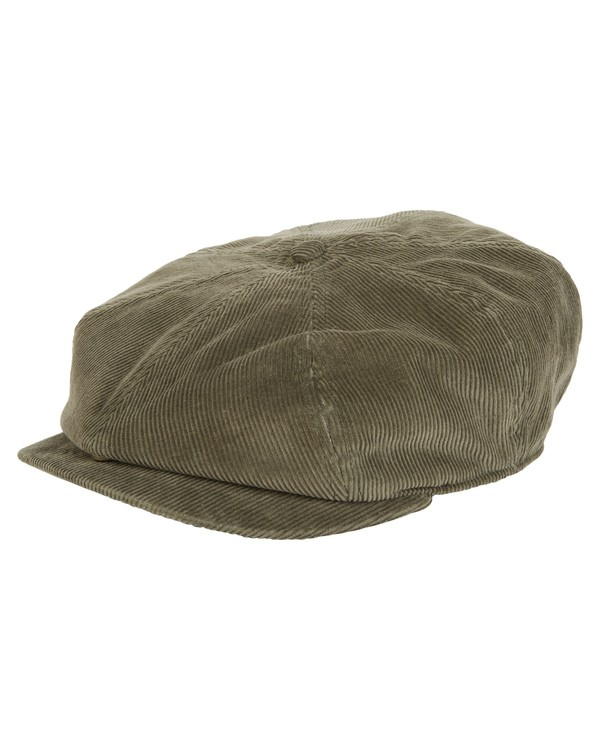 0 Cabby Corduroy Cap Green MAHW1BCA Billabong
