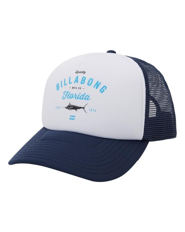 0 Fish On Florida Hat Blue MAHW1BFR Billabong