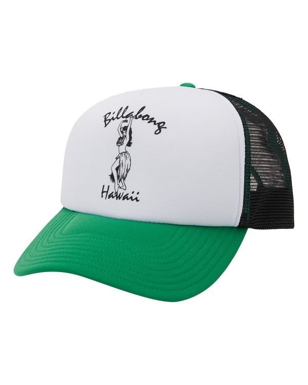 0 Vacay Trucker Hat Green MAHW1BLR Billabong