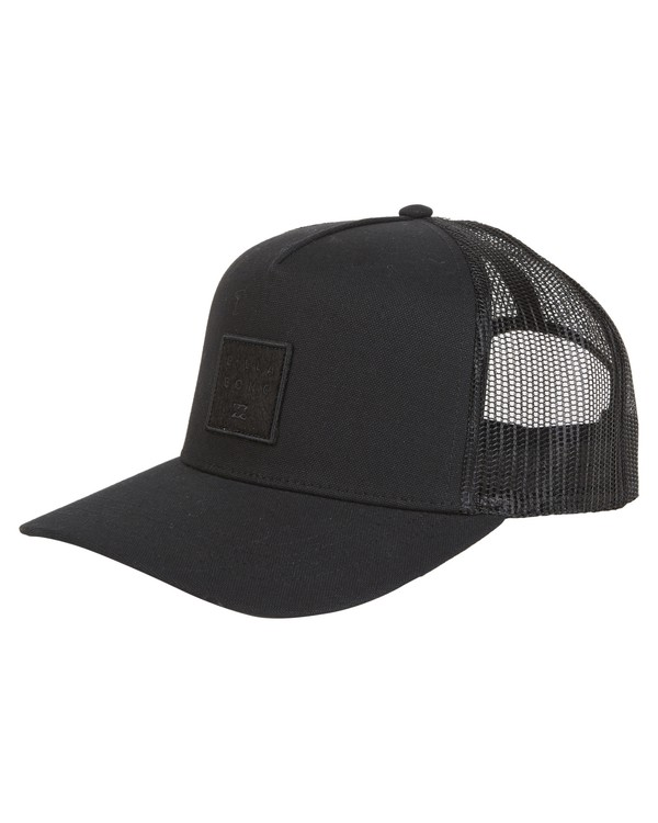 0 Stacked Trucker Black MAHW1BST Billabong