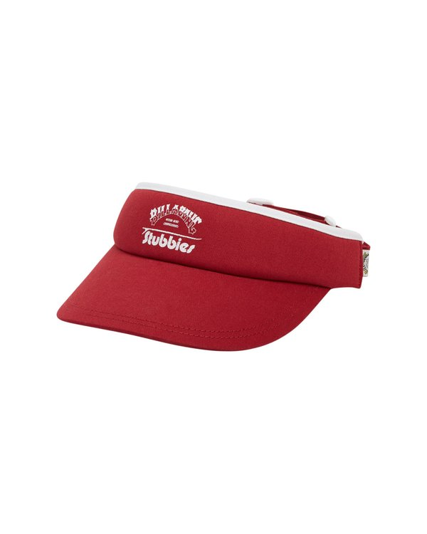 0 Stubbies Visor Red MAHW1BTR Billabong