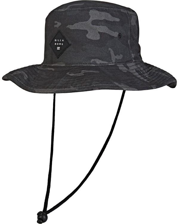 0 Big John Print Hat Grey MAHW2BBP Billabong