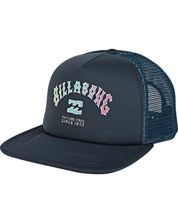 0 Feeble Trucker Blue MAHW2BFE Billabong