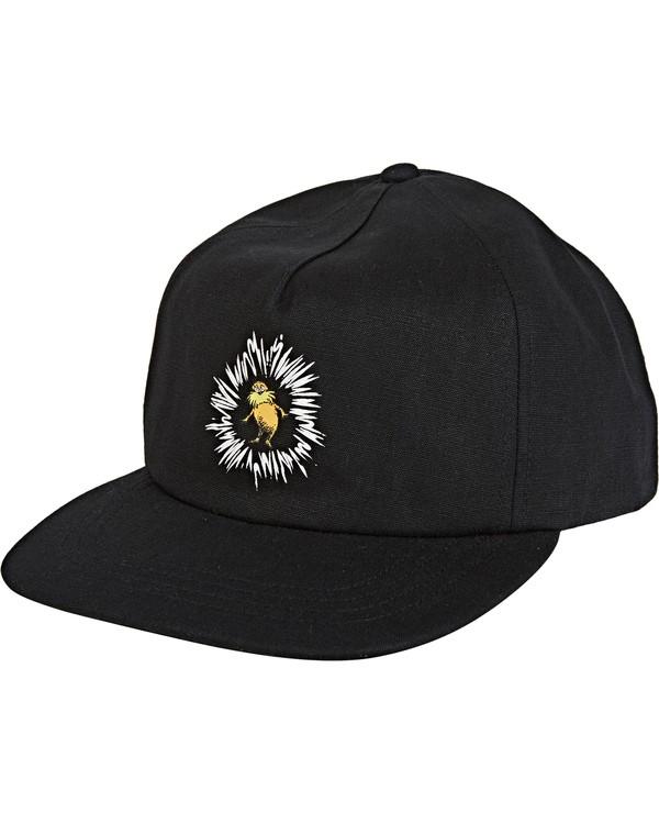 0 Lorax Snapback Hat Black MAHW2BLO Billabong