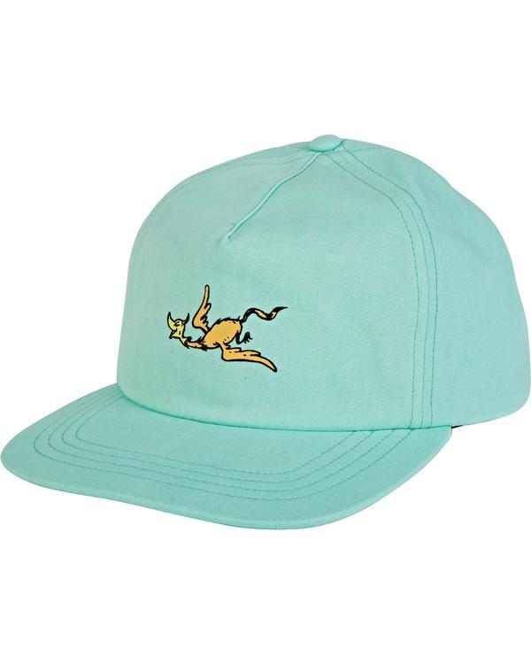 0 Swomee Snapback Hat Green MAHW2BSO Billabong