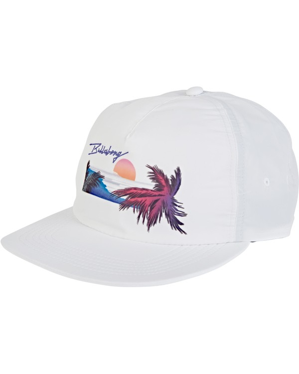 0 Sweeper Hat White MAHW2BSW Billabong