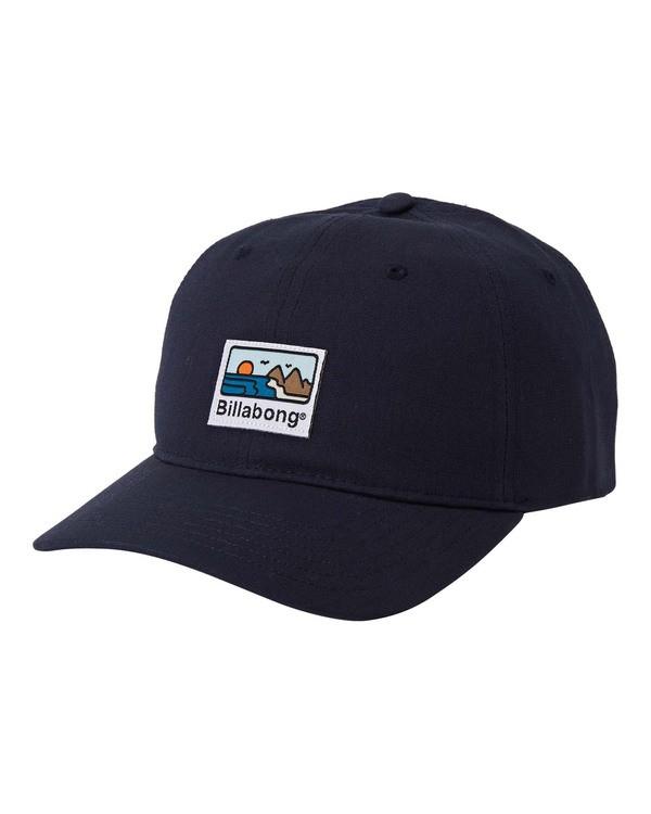 0 Adiv Snapback Hat Blue MAHW3BAS Billabong