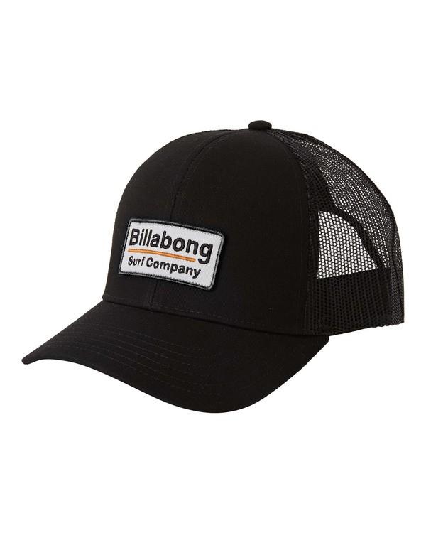 0 Walled Trucker Hat Black MAHW3BWA Billabong