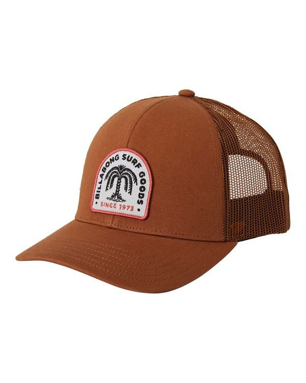 0 Walled Trucker Hat Brown MAHW3BWA Billabong