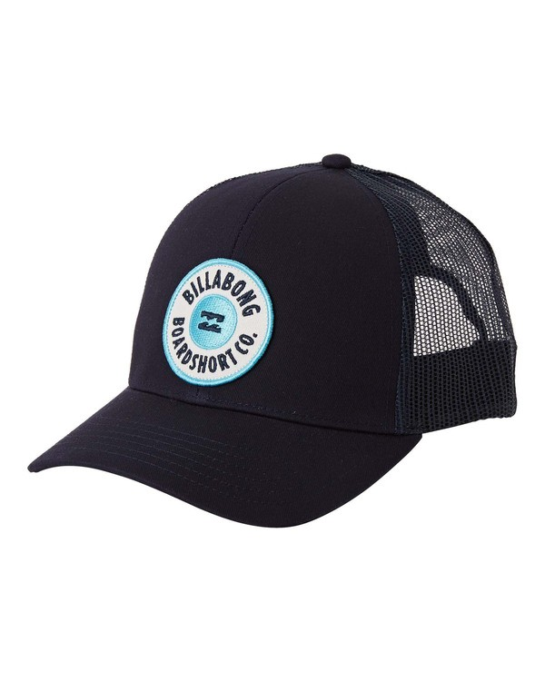 0 Walled Trucker Hat Blue MAHW3BWA Billabong