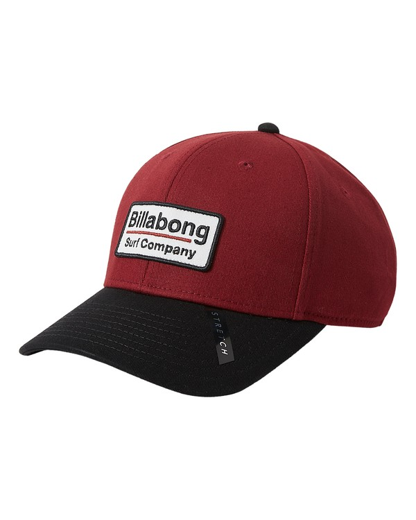 0 Walled Stretch Hat Red MAHW3BWD Billabong