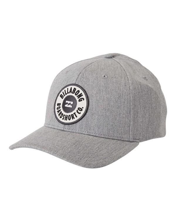 0 Walled Snapback Hat Grey MAHW3BWS Billabong