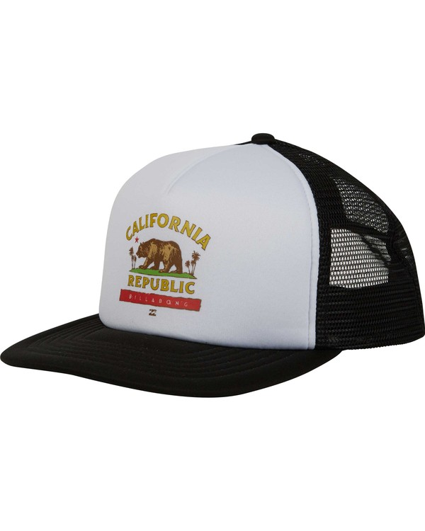 0 California Trucker Hat Black MAHWNBCA Billabong