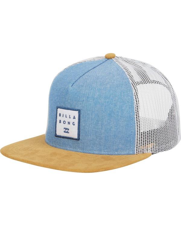 0 Stacked Trucker Hat Blue MAHWNBST Billabong