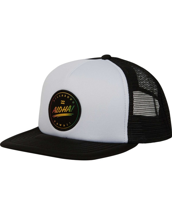 0 Aloha Trucker Hat  MAHWPBHA Billabong