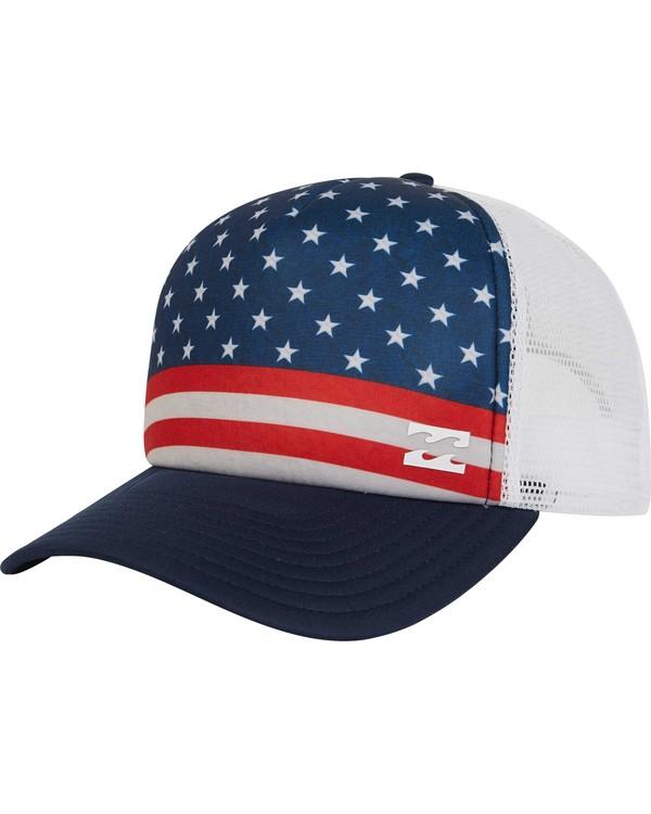 0 Range Trucker Hat  MAHWPBRA Billabong