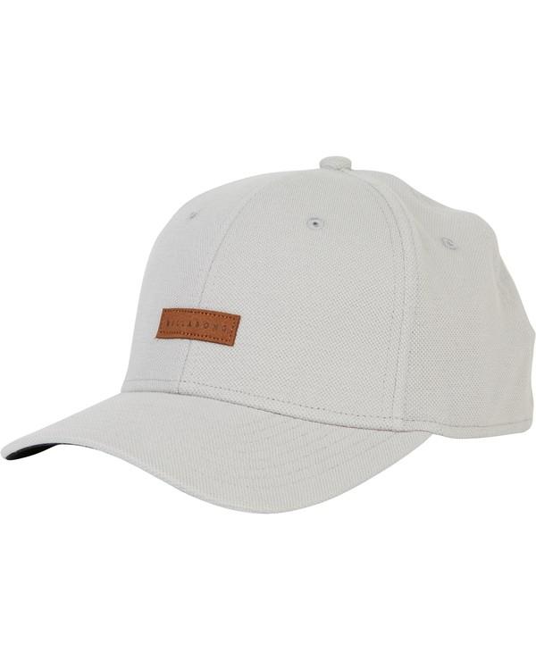 0 United Stretch Hat Grey MAHWPBUN Billabong