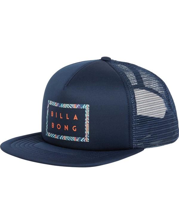 0 Upgrade Trucker Hat Blue MAHWPBUP Billabong