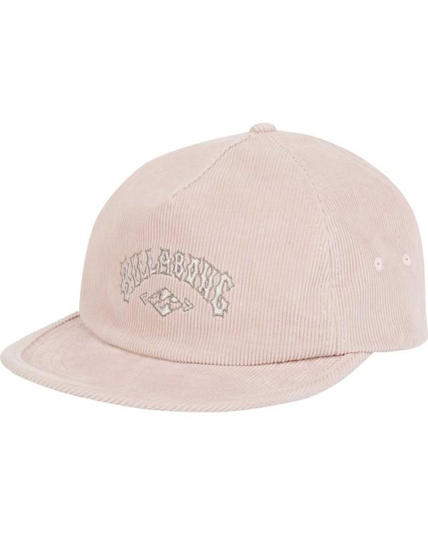 0 Re-Issue Cord Hat Pink MAHWQBRC Billabong