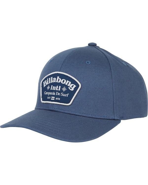 0 Walled Snapback Hat Grey MAHWQBWS Billabong