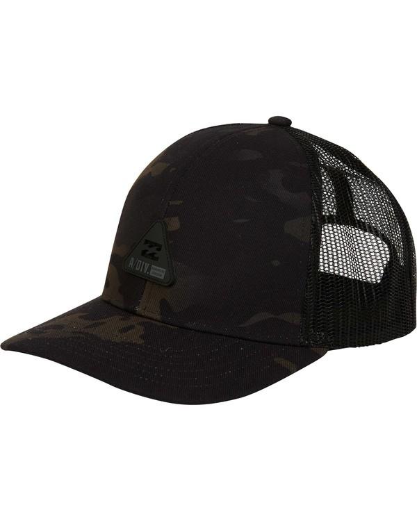 0 Multicam Trucker Hat Black MAHWTBAV Billabong