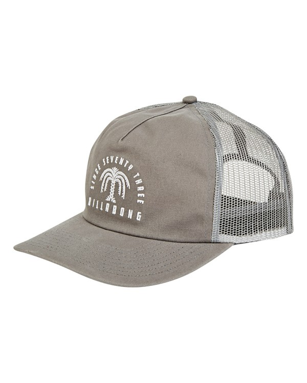 0 Breakdown Trucker Hat Grey MAHWTBBR Billabong