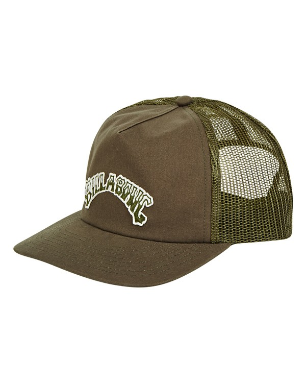 0 Breakdown Trucker Hat Green MAHWTBBR Billabong