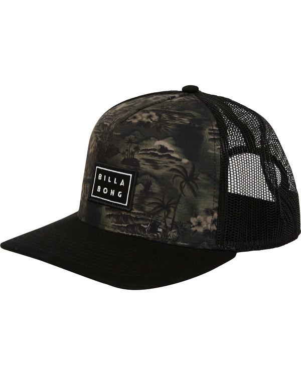 0 Beachcomber Trucker Hat Black MAHWTBBT Billabong
