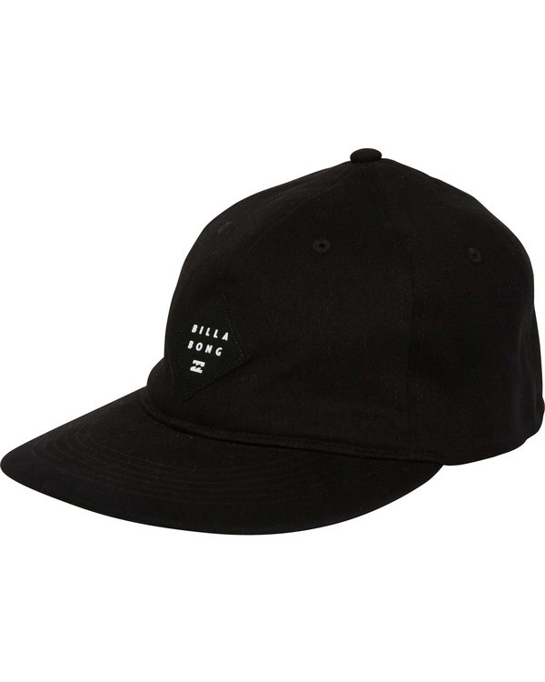 0 Mission Stretch Hat Black MAHWTBMI Billabong