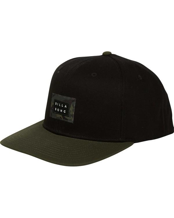 0 Plateau Snapback Hat  MAHWTBPL Billabong