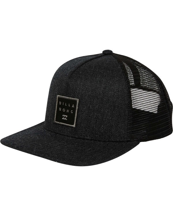 0 Stacked Trucker Hat Grey MAHWTBST Billabong