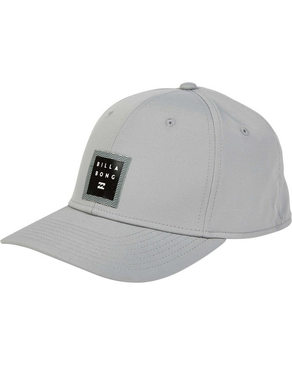 0 Tech Stretch Hat Grey MAHWTBTE Billabong