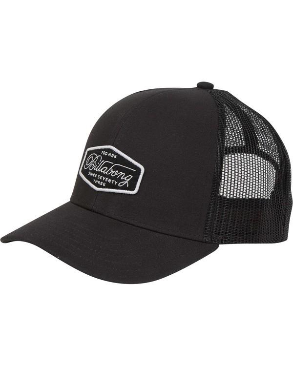 0 Walled Trucker Hat  MAHWTBWA Billabong