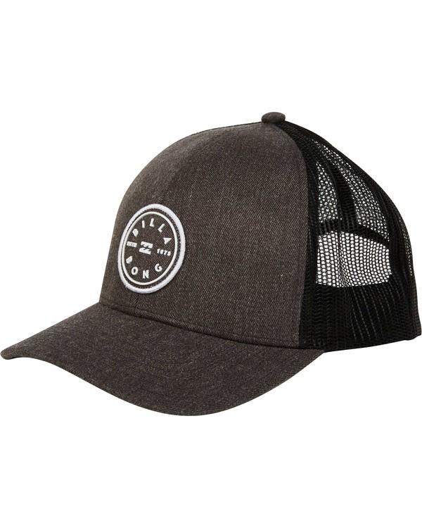 0 Walled Trucker Hat Grey MAHWTBWA Billabong