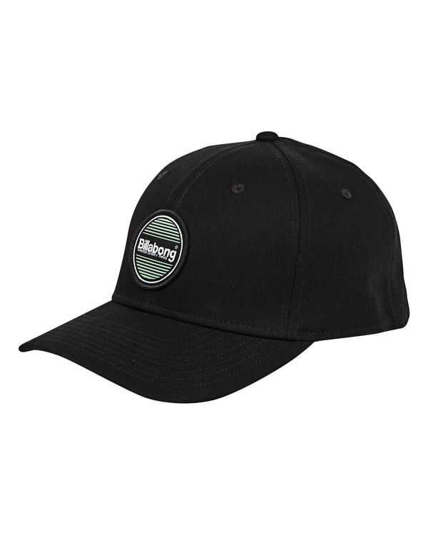 0 Walled Stretch Hat Black MAHWTBWD Billabong