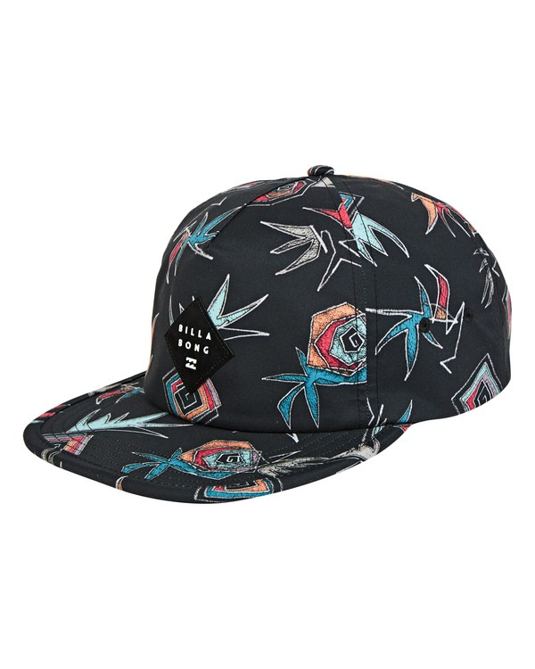 0 Jetty Hat Black MAHWUBJE Billabong